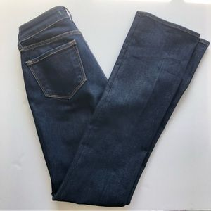J Brand Curvy Fit Straight Leg Denim Jeans Size 25